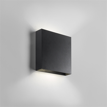 COMPACT UP/DOWN, W2, 3000K, BLACK