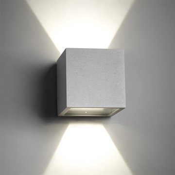CUBE LED SILVER