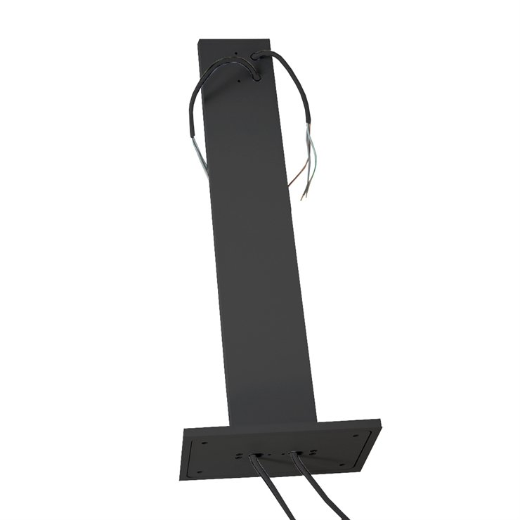 Light Stand Ground: CUBE STAND F/ SURFACE BLACK