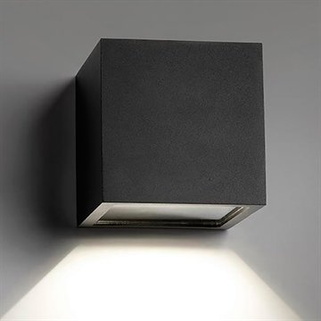 CUBE XL DOWN LED BLACK