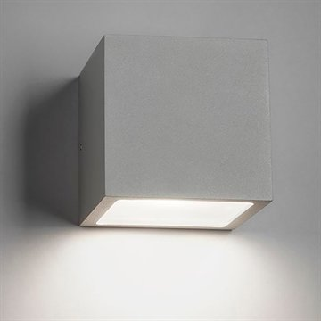 CUBE XL DOWN LED SILVER