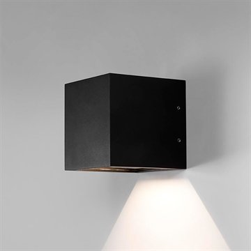 CUBE DOWN LED BLACK