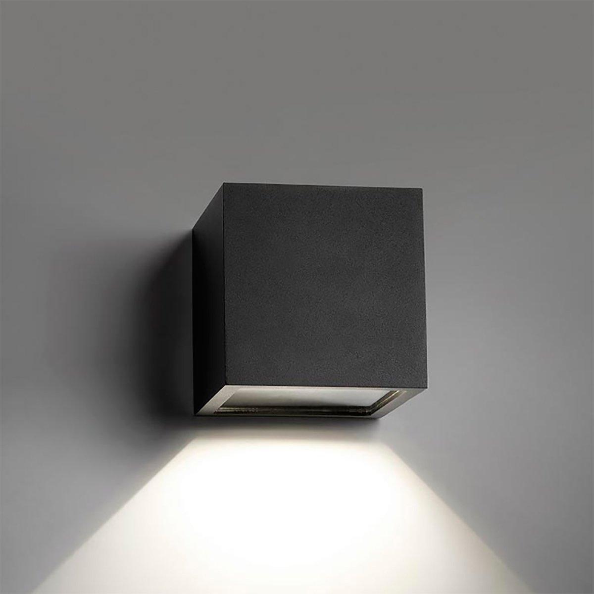 Cube Down Led Inde Eller Ude Lyser Nedad Ronni Gol Design