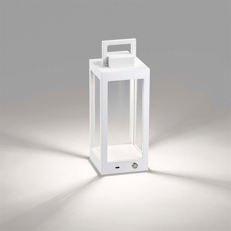 LANTERN TABLE T1 WHITE