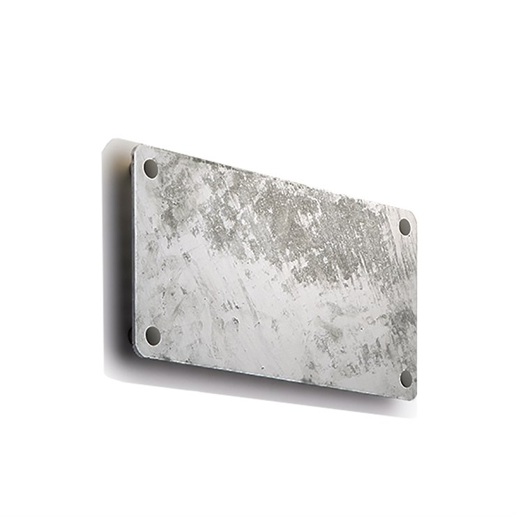 RØRHAT NAMEPLATE GALVANIZED STEEL