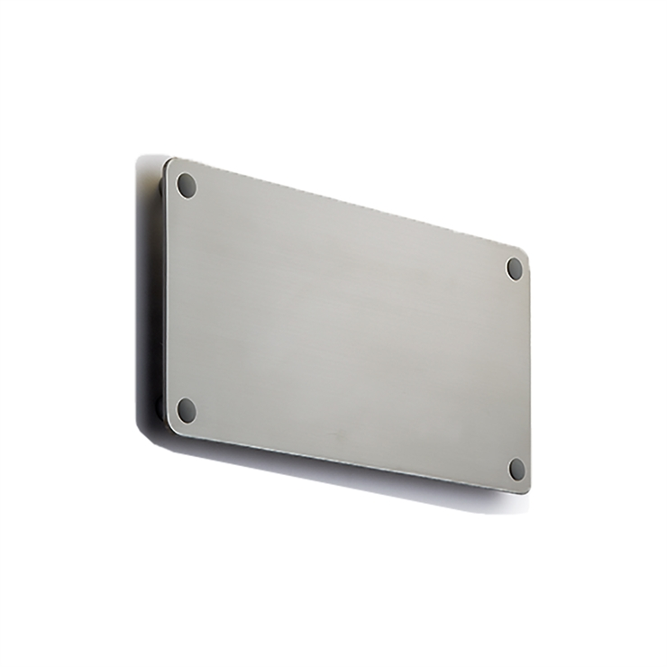 RØRHAT NAMEPLATE STAINLESS STEEL
