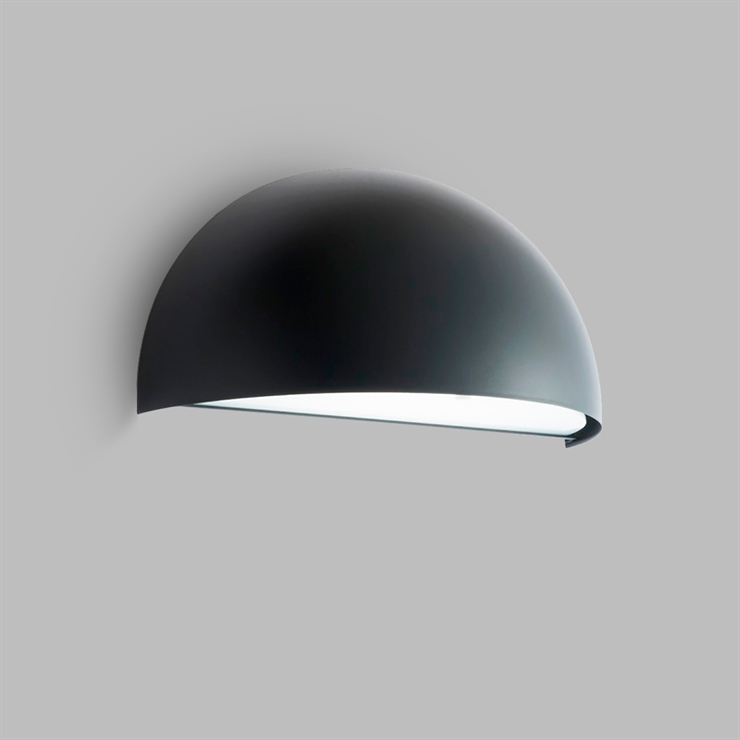RØRHAT WALL LED BLACK