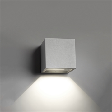 CUBE MINI DOWN LED SILVER
