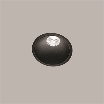 CURVE ROUND TRIM BLACK