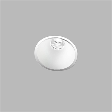 CURVE ROUND TRIM WHITE